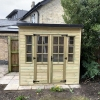 Summerhouse Double Doors Closed