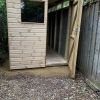 Shed Door Open